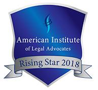 American institute of legal advocates - Raising Star 2018