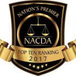 NACDA TOP TEN RANKING