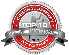 Top Ten Criminal Defense Attorney Law 2019