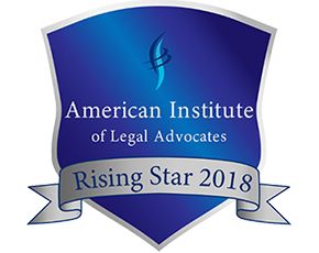 American Institute of Legal Advocates Rising Star2018