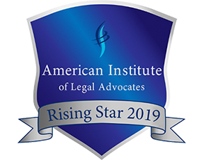 American Institute of Legal Advocates Rising Star2019
