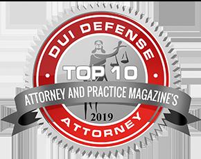 Top Ten DUI Law 2019