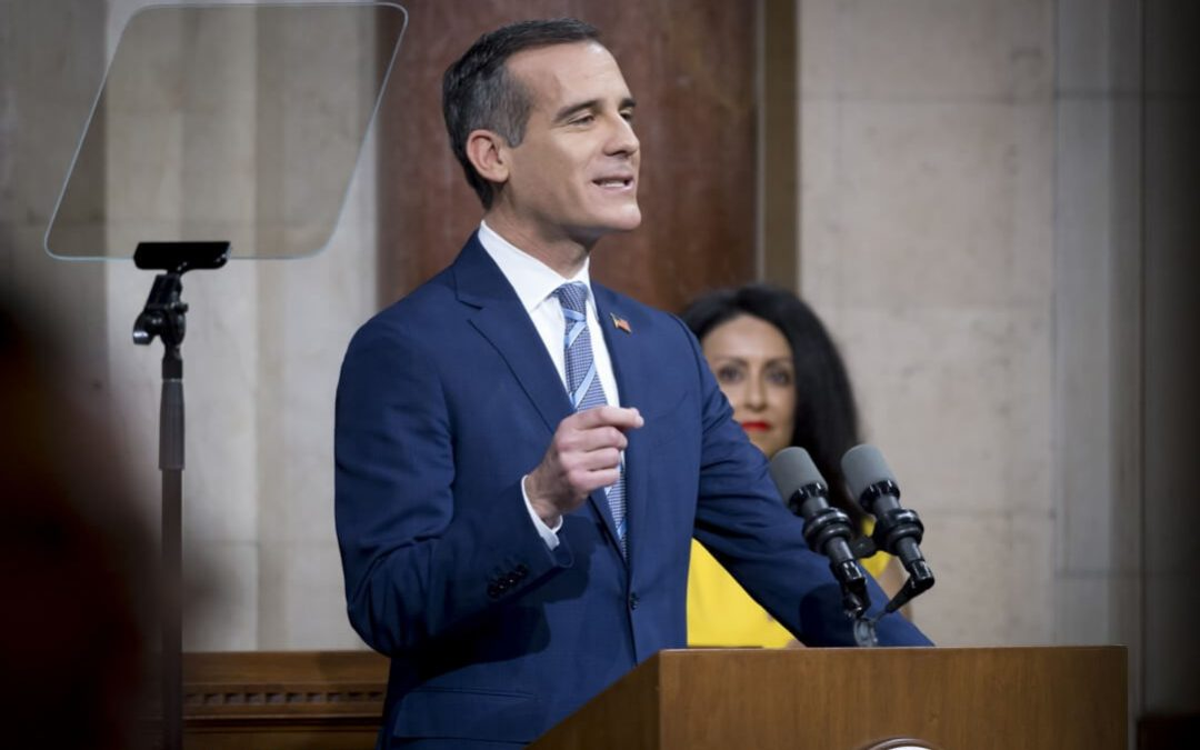 Mayor Garcetti And LAPD Frustrated With Results Of Prop 47
